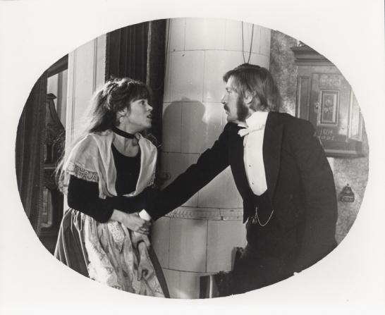Jane Fonda, David Warner