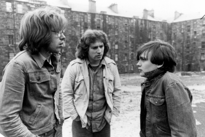 Alan Love, William Greenlees, Douglas Sannachan