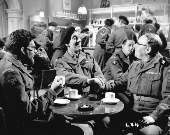 Rolf Harris, Tommy Trinder, Harold Goodwin, Derek Prentice