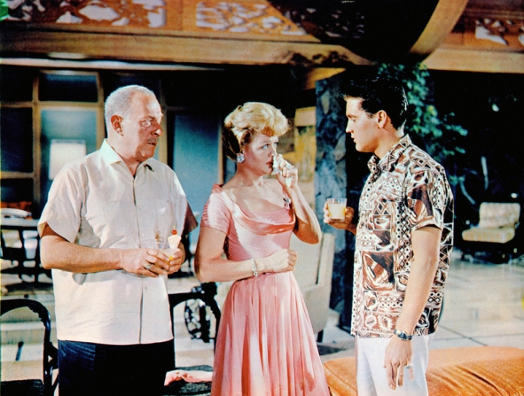Roland Winters, Angela Lansbury, Elvis Presley