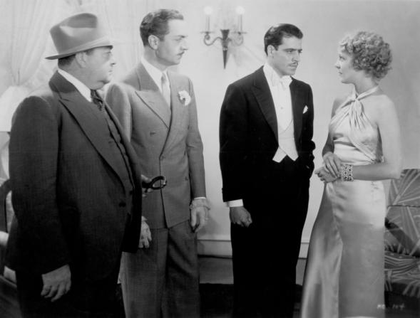 Eugene Pallette, William Powell, Jack La Rue, Helen Vinson