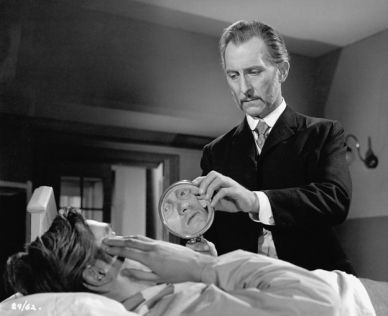 Richard Pasco, Peter Cushing