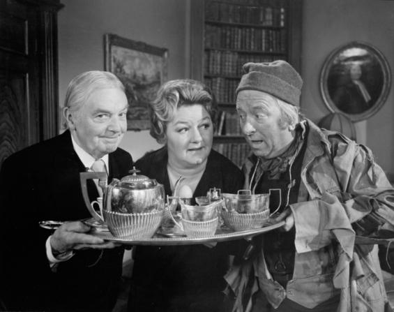 George Moon, Joan Sims, Hugh Lloyd