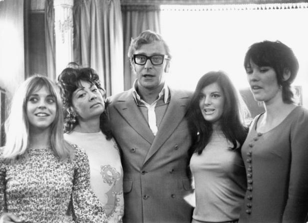 Petra Markham, Rosemarie Dunham, Michael Caine, Dorothy White