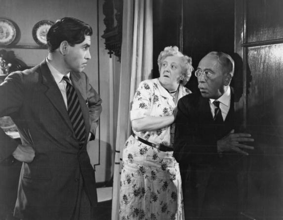 Robert Beatty, Margaret Rutherford, Gordon Harker