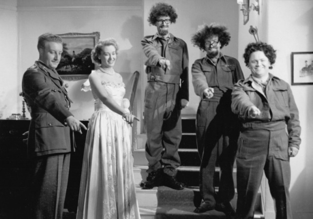 Peter Sellers, Carole Carr, Michael Bentine, Spike Milligan, Harry Secombe