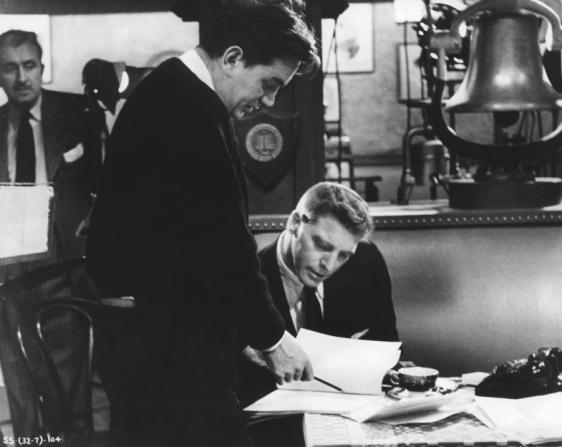 Alexander Mackendrick, Burt Lancaster