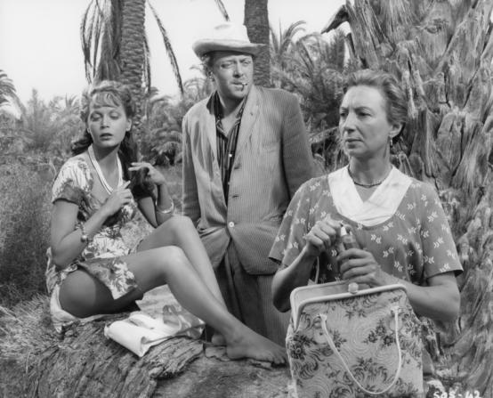 Eva Bartok, Richard Attenborough, Jean Anderson
