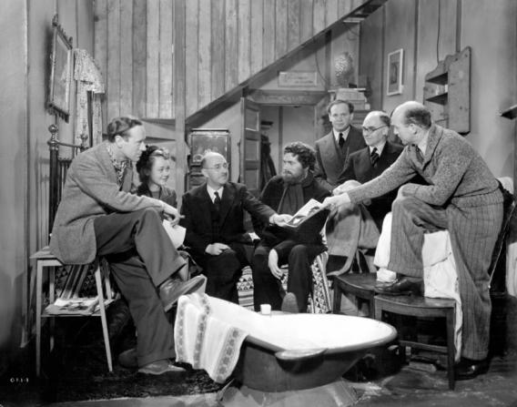 Leslie Howard, Glynis Johns, Laurence Olivier, Michael Powell