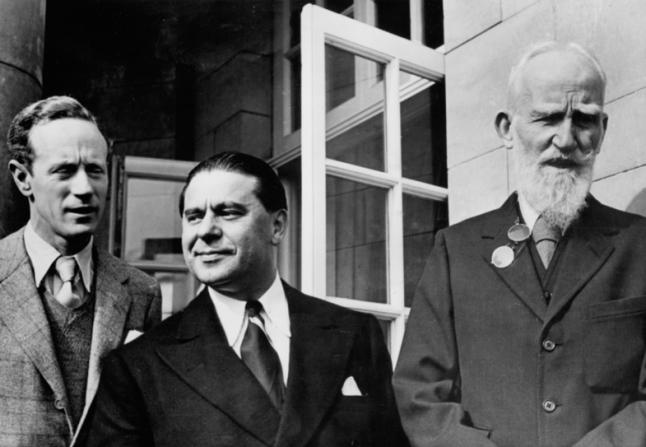 Leslie Howard, Gabriel Pascal, George Bernard Shaw