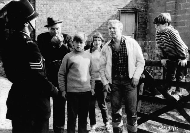 Desmond Carrington, John Moulder-Brown, Peter Halliday
