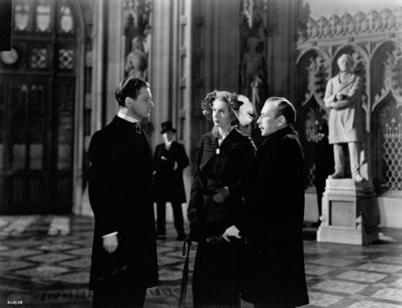Robert Donat, Margaret Leighton, Cedric Hardwicke
