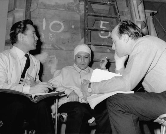 Richard Todd, Herbert Lom, Jack Cardiff