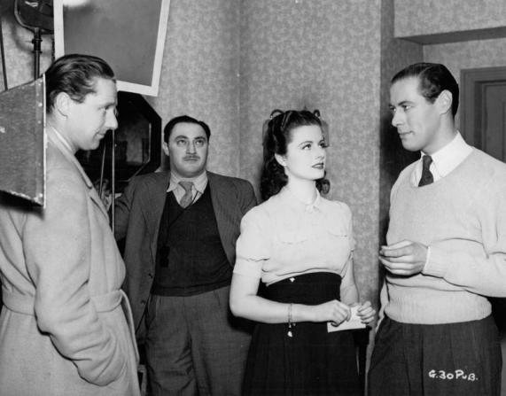 Carol Reed, Margaret Lockwood, Rex Harrison, Otto Kanturek