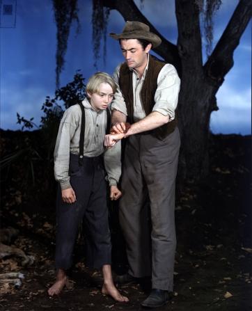 Claude Jarman Jr, Gregory Peck