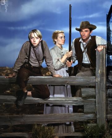 Claude Jarman Jr, Jane Wyman, Gregory Peck