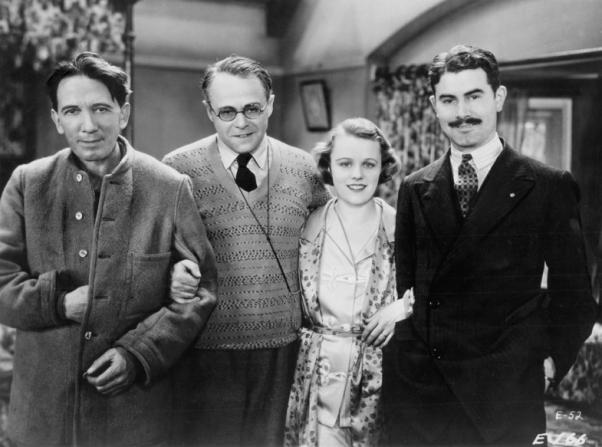 Gerald du Maurier, Basil Dean, Edna Best, Alister Macdonald
