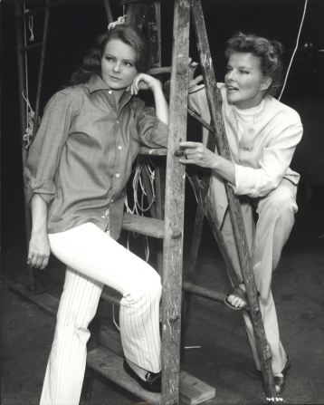 Katharine Houghton, Katharine Hepburn