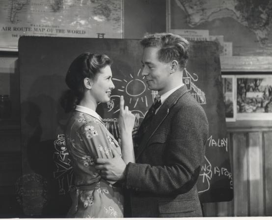 Dinah Sheridan, Jimmy Hanley