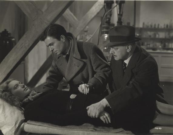 Arnew Wallbercher, James Mason, Patricia Arrigoni