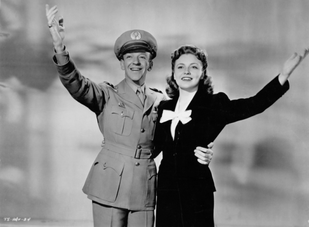 Fred Astaire, Joan Leslie
