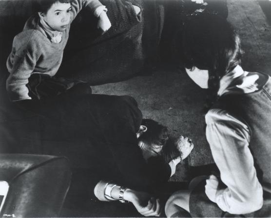 Phoebe Nicholls, Dirk Bogarde, Pamela Franklin