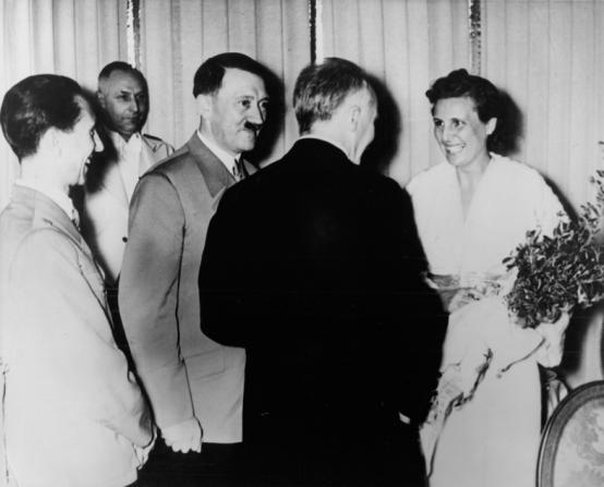 Adolf Hitler, Leni Riefenstahl, Stéphane Julien