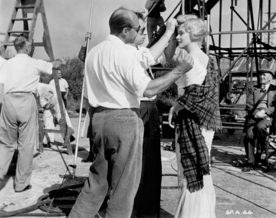 Jack Cardiff, Marilyn Monroe, Malgorzata Kolbow