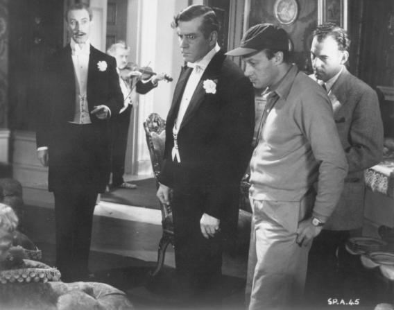 Richard Wattis, Laurence Olivier, Jack Cardiff