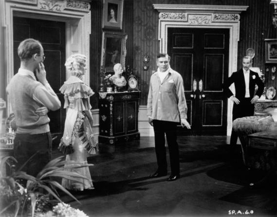 Laurence Olivier, Richard Wattis, Marilyn Monroe