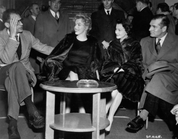 Marilyn Monroe, Vivien Leigh, Laurence Olivier