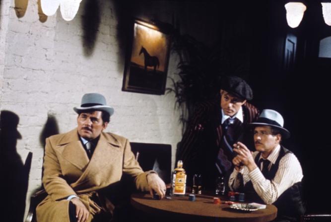 Robert Shaw, Robert Redford, Paul Newman