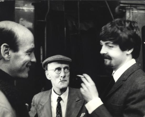 Richard Lester, Wilfrid Brambell, Paul McCartney