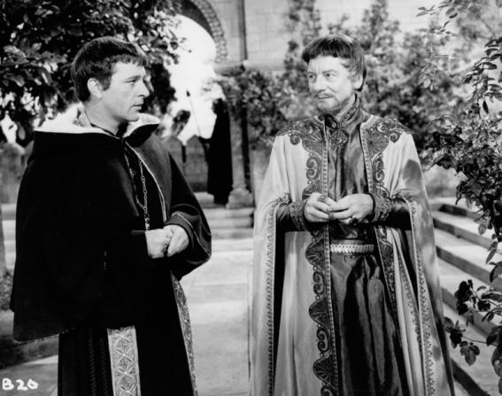 Richard Burton, John Gielgud
