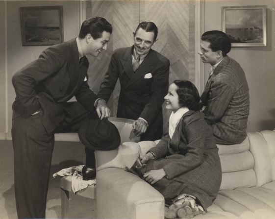 Robert Taylor, Merle Oberon, Laurence Olivier