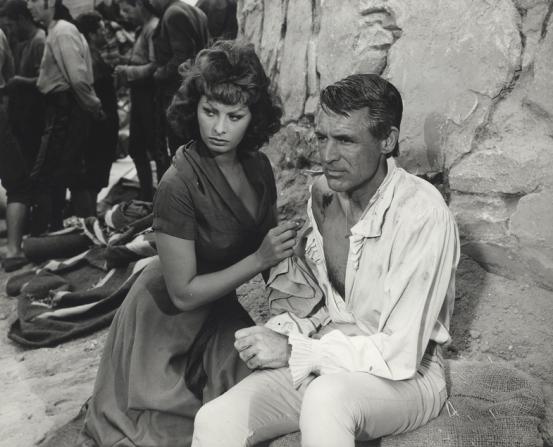 Sophia Loren, Cary Grant