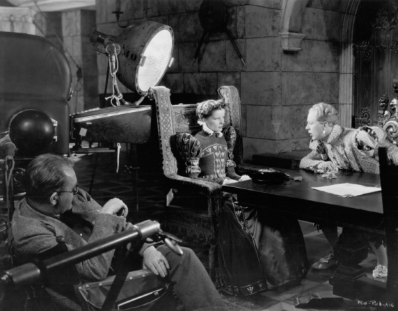 John Ford, Katharine Hepburn, Douglas Walton