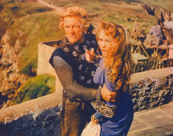 Kirk Douglas, Janet Leigh
