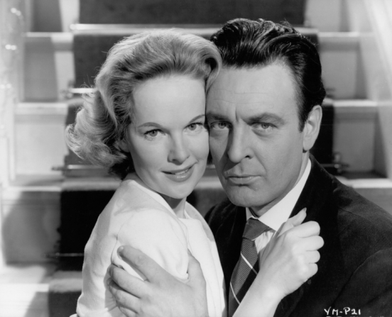Peggy Cummins, Donald Sinden