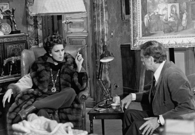 Silvana Mangano, Burt Lancaster