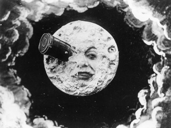 Resultado de imagem para Le voyage dans la Lune