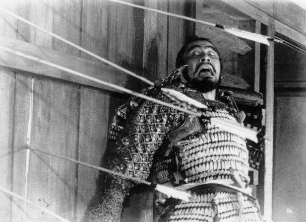 throne of blood blu ray