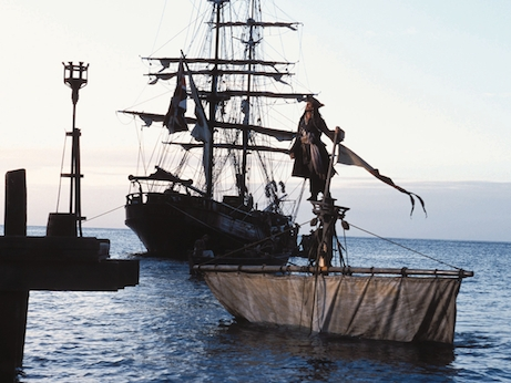 Pirates Of The Caribbean The Curse Of The Black Pearl 2003 Bfi