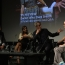 Peter Capaldi, Jenna Coleman  and Steven Moffat on Doctor Who