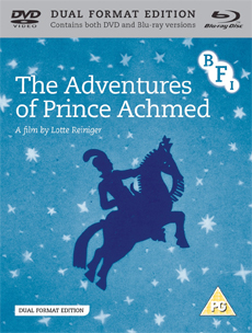Buy The Adventures of Prince Achmed on DVD and Blu Ray