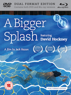 Buy A Bigger Splash: featuring David Hockney on DVD and Blu Ray
