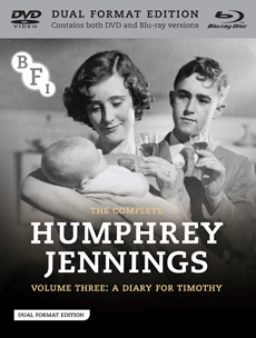 Buy The Complete Humphrey Jennings Collection Volume Three: A Diary for Timothy on DVD and Blu Ray