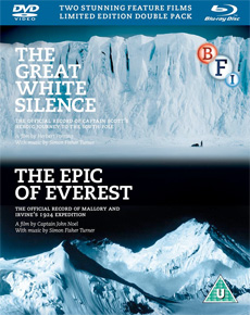 Buy The Epic of Everest / The Great White Silence on DVD and Blu Ray