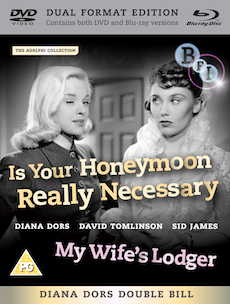 Buy Is Your Honeymoon Really Necessary? + My Wife's Lodger on DVD and Blu Ray