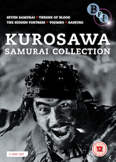 Buy Kurosawa Samurai Collection on DVD and Blu Ray